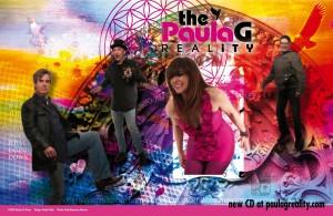The Paula G RealityCD promo poster